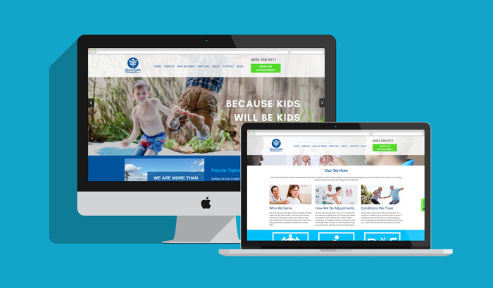 Sioux Falls Chiropractic Webmock
